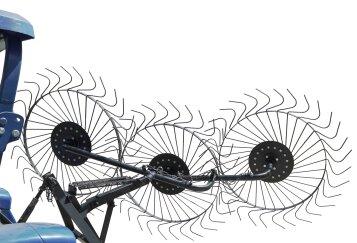 Грабли механические солнышко для минитрактора (ГР5)