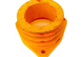 Шкив для трех ремней к двигателям с водяным охлаждением