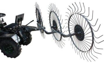 Грабли механические солнышко 3 (ГР4)