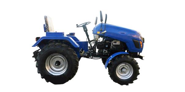 Сельскохозяйственный трактор адаптирован к посевной площади