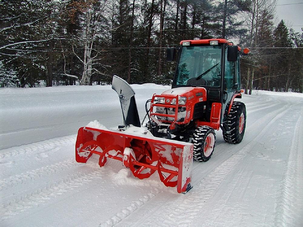 подготовка минитрактора к зиме