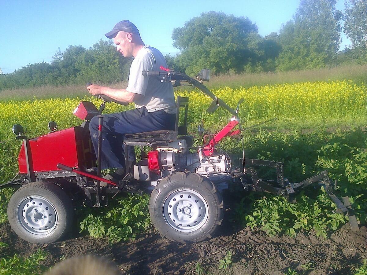 минитрактор для огорода